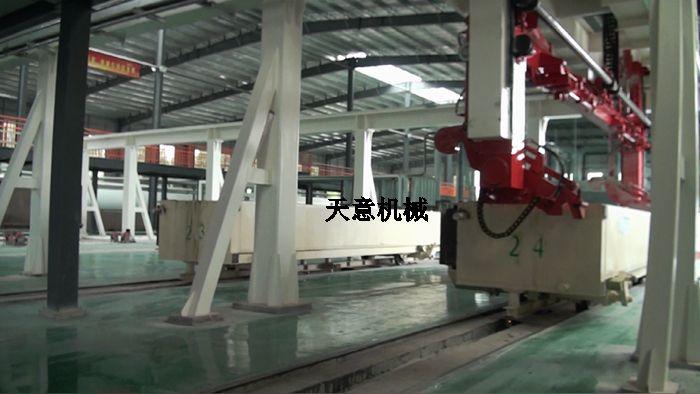全自动蒸压加气混凝土ALC板材生产线