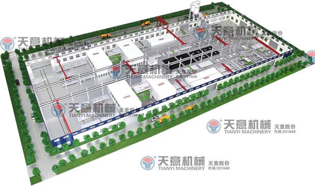 pc构件设备生产线