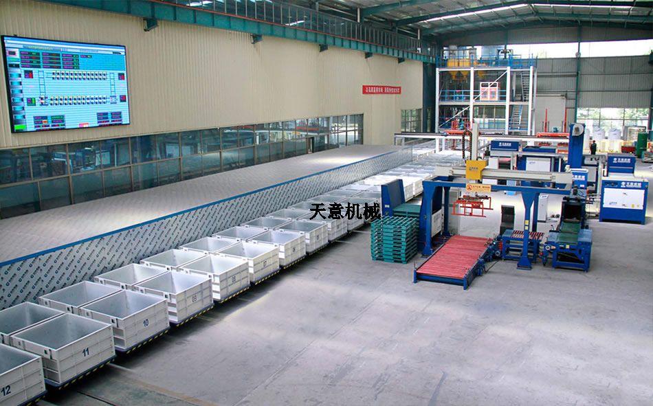 水泥发泡保温板生产线